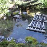 Garden of inn where Princess Kazu stayed