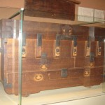 Princess Kazu's trunk, used on her journey along the Inner Mountain Road in 1861 (see The Last Concubine)