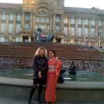 Isla Wong and me in front of Floozie in Bikini