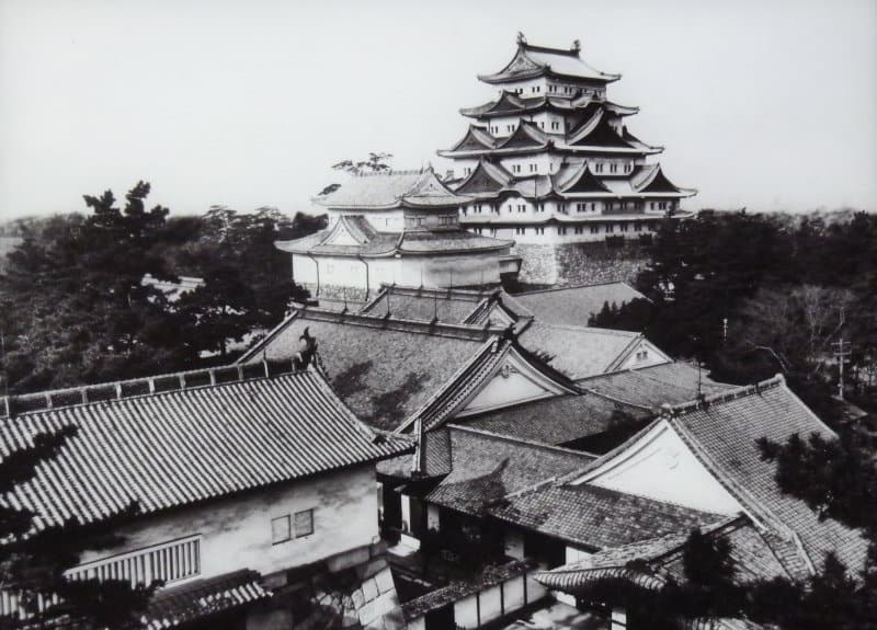 Nagoya Castle before it was destroyed by fire