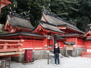 At Kumano Nachi Taisha shrine