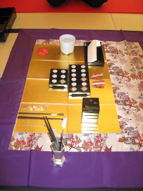 Incense ceremony implements