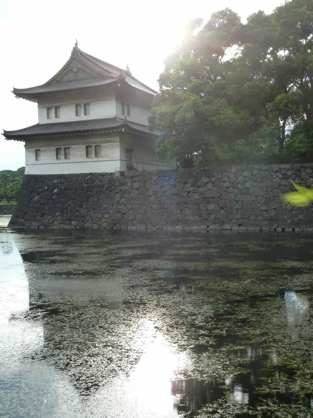 Edo Castle (Imperial Palace Tokyo) today