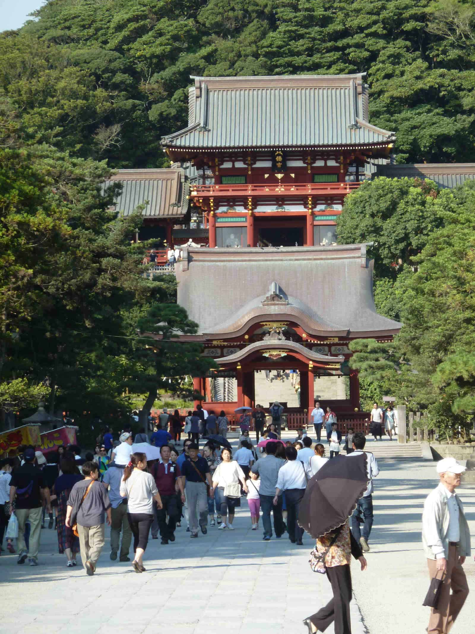 Hachiman shrine in Kamakura