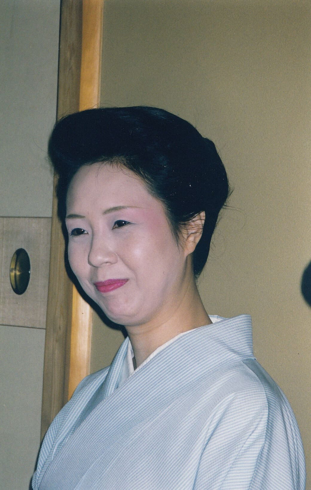Kiyoha in geisha mode around 2000